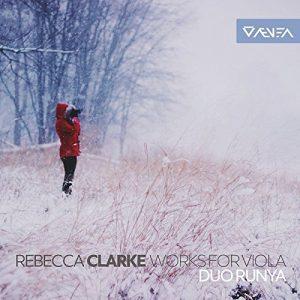 Rebecca Clarke - Works for Viola - Front